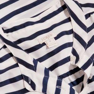 J.Crew Sleeveless Button down Shirt